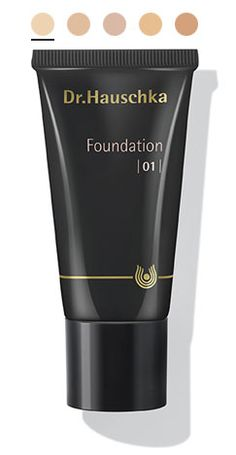 NEW! Dr. Hauschka Foundation highlights the natural vitality of the skin through a radiance that is personalized to each skin tone. Easy to apply with a light, airy texture, Foundation features subtle nuances of color and nurturing botanical oils, waxes and extracts for an even, smooth and supple complexion.