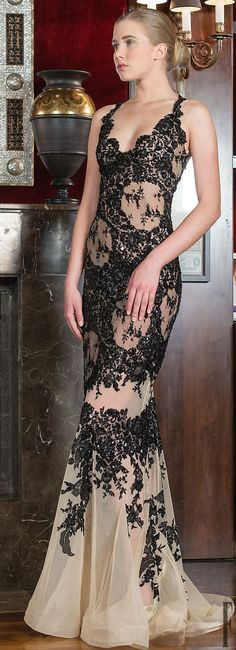 Toufic Hatab Couture Spring 2014 http://www.pinterest.com/saraazulay/glamour/