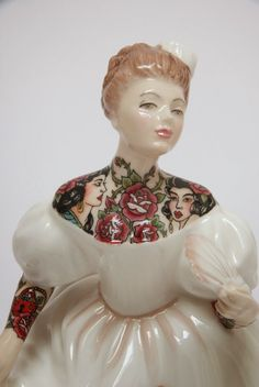 ceramic sculptures by jessica harrison