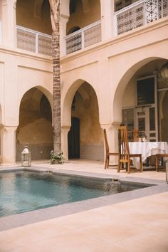 Riad AnaYela Marrakech Style At Home, Riad, Hotels, Moroccan, Mansions, House Styles, Home Decor, Moroccan Style, Marrakech
