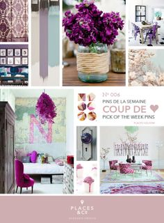 Pins de la semaine | Pins of the Week N.006 – Places  Co - #Moodboard