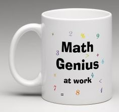 Funny mug, Math Genius at work mug, Colleague gift, work mug, office mug, maths gift, accountant gift, engineer gift, by BeesMugShop on Etsy
