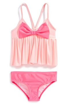 Love U Lots Two-Piece Swimsuit (Baby Girls) available at #Nordstrom