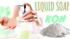 ✮ DIY ✮ TUTO Savon à la Potasse   Liquid Soap   Caly Beauty