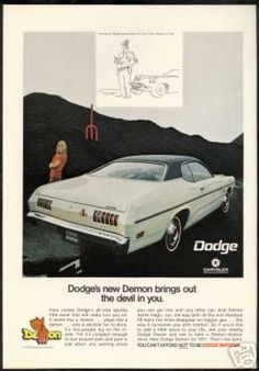 Vintage Car Advertisements of the 1970s  This was MY car!  Same color combo and everything!