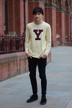Y like YMC  (by Jordan Henrion) http://lookbook.nu/look/3007877-Y-like-YMC