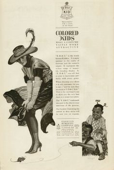 """Colored Kids"" here is a pun that refers to her boots. 