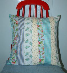 Scrappy+Cottage+Shabby+16+x+16+Pillow+Cover+by+littlebirdlanellc,+$22.00