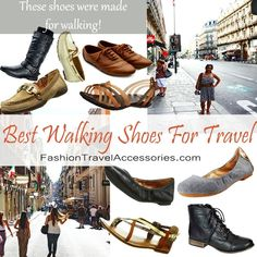In this blog you'll find the best walking shoes for travel which are loafers, oxford shoes, ballet flats, sandals, and boots to choose from. Comfortable and affordable. #walkingshoes