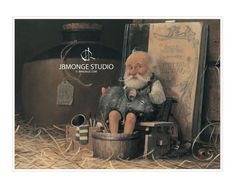 SIGNED Fine Art Print  After a long Day  by StudioJBMongeGoblin