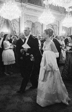 Rainier and Grace of Monaco received by Charles de Gaulle at the Elysè Palace in Paris (France), Andrea Casiraghi, Charlotte Casiraghi, Grace Kelly Style, Princess Grace Kelly, Princess Stephanie, Beatrice Borromeo, Adele, Albert Von Monaco, Patricia Kelly