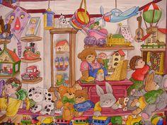 Im Spielgeschäft...  von Christl Vogl