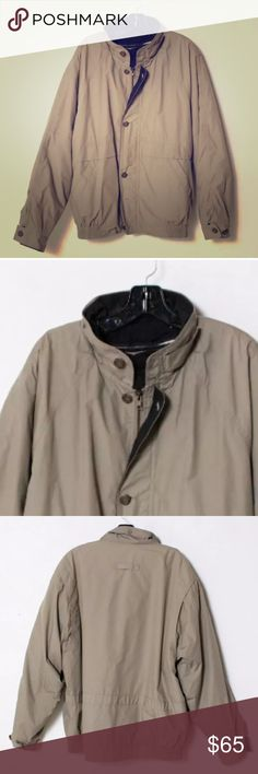 🍁TOWNE, by LONDON FOG, MEN'S TAUPE JACKET🍁 🍂🍁 AWESOME MEN'S TAUPE TOWNE, BY LONDON FOG, JACKET! It is in EXCELLENT CONDITION, ALMOST LIKE NEW! QUALITY FABRIC AND IT IS MEDIUM WEIGHT FOR GOOD WARMTH! It has very nice details with all buttons attached! The measurements are recorded with item flat, un-stretched..  Size on tag: L Shoulder to Shoulder: 24 Armpit to armpit: 27 Sleeve Length:  25 Total Length:  28.5 Color: Taupe/Brown🍁🍂 Towne, From London Fog Jackets & Coats