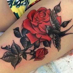 Home - Tattoo Spirit Red Flower Tattoos, Tattoos For Women Flowers, Beautiful Flower Tattoos, Flower Tattoo Designs, Beautiful Flowers, Tattoo Flowers, Tattoo Girls, Girl Tattoos, Carnation Tattoo