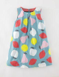 Cord Pinafore Dress