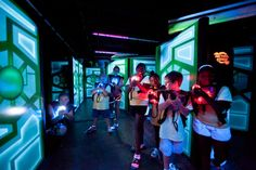 Laser Tag at Crown Sports Center