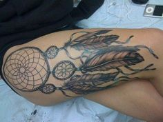 Dream Catcher tat