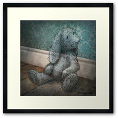 ☆★ Bunny from Barely There ★☆ Framed Art Print by Paul Stickland for StrangeStore on Bunny Toys, Bunnies, Funny Owls, Children's Book Illustration, Book Illustrations, Centerpiece Decorations, Geek Gifts, Online Art, Vintage Toys