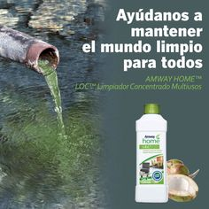 Que haces para cuidar el medio ambiente? www.saludylargavi... y www.facebook.com/... Artistry Amway, Amway Home, Amway Business, Nutrilite, Green Life, Ecology, Entrepreneur, Messages, 3d