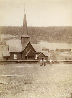 Hedalen stave church, 1.desember 1899.
