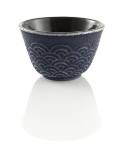 THIS IS THE BEST GIFT FROM MY BABY.. LOVE YOU Wave Japanese Cast Iron Tea Cup