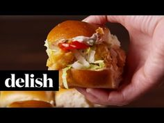 Best Po Boy Sliders - How to Make Po Boy Sliders
