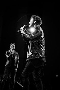 Caleb and Joey at their Anthem Lights concert in Grand Rapids, MI on Mar 22, 2015 (Photo Credit: Caleb Cook)