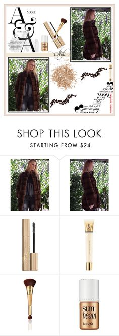 """""""dmb furs 38"""" by umay-cdxc ❤ liked on Polyvore featuring Stila, Yves Saint Laurent, tarte, Benefit and Topshop"""