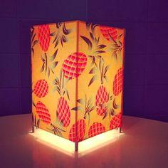 Luminária Abacaxi Pop Tangerina pra dar aquela animadinha no ambiente | + Blog LM +