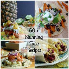 60 Stunning Taco Recipes from NoblePig.com