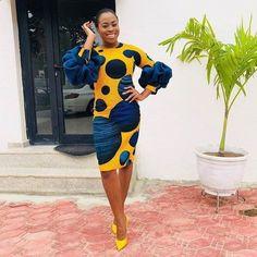 latest ankara styles 2019 for ladies:check out 50 + beautiful and stylish ankara. from Diyanu - Ankara Dresses, Shirts & African Fashion Designers, African Fashion Ankara, Latest African Fashion Dresses, African Print Dresses, African Print Fashion, Africa Fashion, African Dress, Ankara Dress, African Prints