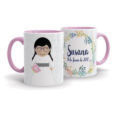 Taza personalizada para regalar a Susana el día de su comunión ¡Nos encanta como quedó! :D