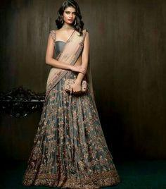 """""""Shaahibaug"""" by Shyamal and Bhumika (Bridal Festive Couture (Desi Bridal Shaadi Indian Pakistani Wedding Mehndi Walima Lehenga /"""
