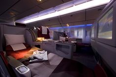 World's Best Airlines for Business Travelers: Readers' Choice Awards 2014 - Condé Nast Traveler Best Airlines, United Airlines, Business Class, Business Travel, Choice Awards, Airplane Interior, Private Jet Interior, Dubai, First Class Flights