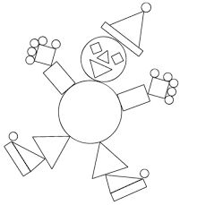 Image result for semi circle shape worksheet preschool