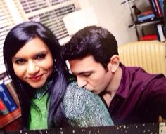 The Mindy Project. Mindy Kaling and Chris Messina god i love him The Mindy Project, Mindy Kaling, Chris Messina, Love Actually, Interracial Love, Music Tv, Scandal Abc, Best Couple, Going To Work