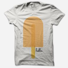 I want this Popsicle (Adult & Kids) White Poly-Cotton T-Shirt from Hello Apparel (via @hellomerch)