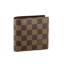 Louis Vuitton Mens Wallets - LVHSN61675 brown grid overlay design makes the wallet styles can be more in line with the kind of tolerance successful people, regardless of internal and external, can reflect the kind of gentleman's accomplishment, to help you in any situation can be reflected mature atmosphere.