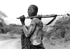 Surma warrior with Kalashnikov - Omo Ethiopia | Flickr - Photo Sharing!