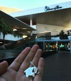 @joyeria_necora  en Guadalajara #guadalajara #andares #zapopan #origami #joyeria #plata #elefante  We are in Guadalajara #silver #jewelry #design #3dprinting #3d by joyeria_necora