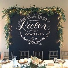 Sandra Nicole Designs can create a backdrop such as this for your wedding day Www.sandranicole.com: