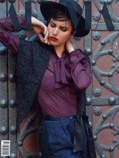 alma magazine cover  Alexia Faka
