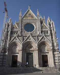 Pictures of Siena, a Classic Tuscan Hill Town: Picture of the Duomo in Siena