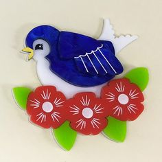 Blue Bird, Bloom, Kids Rugs, Jewels, Pretty, Anonymous, Brooches, Accessories, Addiction