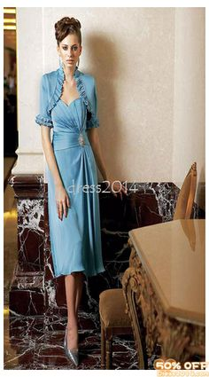 Two-Piece Tae-Length Slim Line Empire Styling Evening Gowns 39e3b1df362a