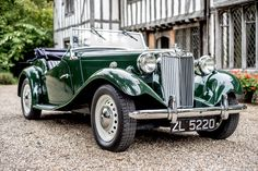 1951 MG TD Competition Abington MkII restored at Bridge Classic Cars, Suffolk, UK