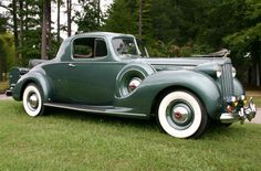 Packard V12 Rumble Seat Coupe 1939