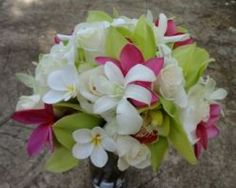 Kauai Wedding Bouquet, Alii Kauai Weddings