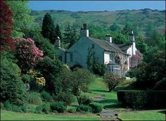 Rydal Mount, William Wordsworth's home, Lake District. Venue offering a unique lyrical backdrop to your ceremony
