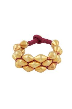 Silver Gold Plated Dholki Bead Paunchi